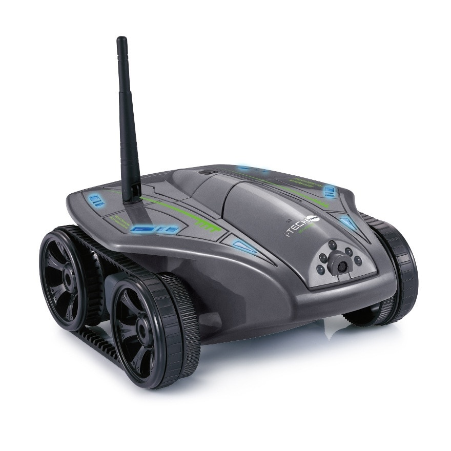 Здесь можно купить  WiFi RC Mini Tank with Camera Real-time Video Phone Remote Control Toy Car Model Rc Toy Best Gifts white black  Игрушки и Хобби
