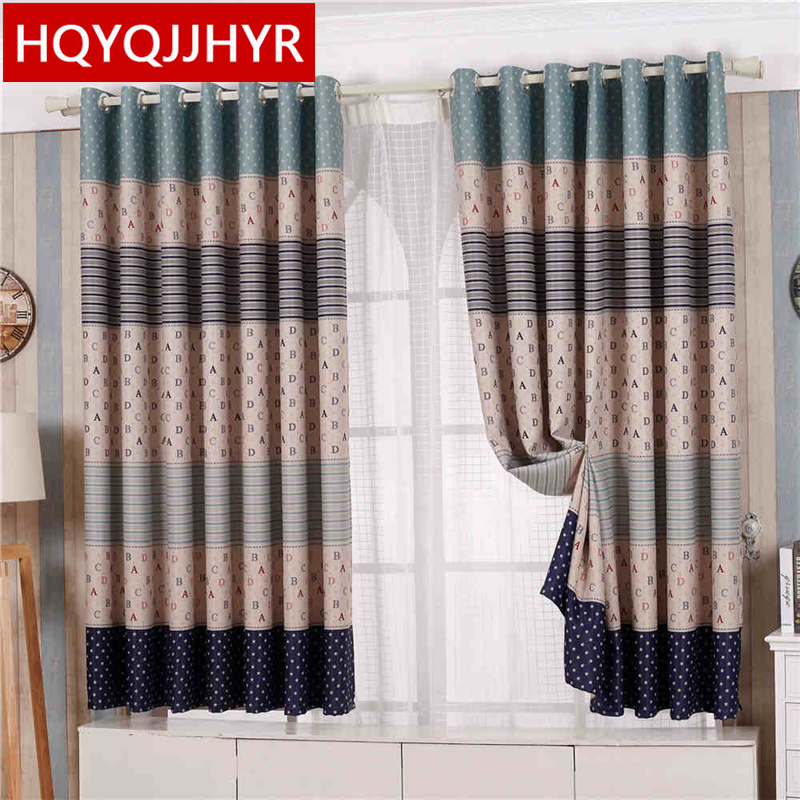 US $5.0 50% OFF|20 models of Modern full blackout curtains thick short for  Living Room Window curtain Bedroom kitchen short curtain Specials-in ...