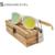 De moda de Colores de Lentes de gafas de Sol de Marco de Plástico Blanco De Bambú De Madera Gafas de Lentes de Gafas De Sol De Madera Coloridos de la Estrella