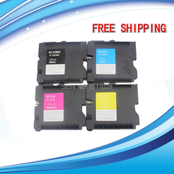 Tusz sposób GC21 BK/C/M/Y (kropkowany) kompatybilny wkład z atramentem z atrament pigmentowy do GX-7000/5000/ 3000/3000 S/3000SF/2500