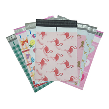 10PCS 10x13inch Printed Poly Mailer 25.4x33cm Colorful Totes Mix Pattern Poly Mailer Self Seal Envelopes Postal Shipping Bags