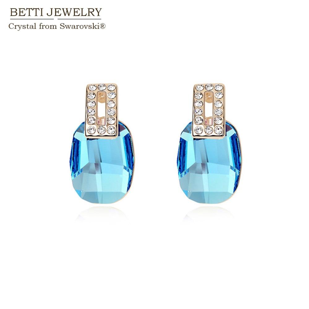 Cadeau danniversaire pour femme et fille Bracelet de cheville papillon en argent sterling 925 avec cristaux bleus de Swarovski