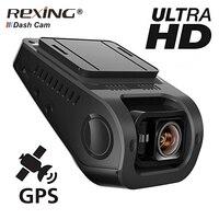 Rexing F8 Автомобильный видеорегистратор заднего вида регистраторы с GPS камера Full HD WI FI Широкий вид G сенсор видео Регистраторы Ночное видение ц