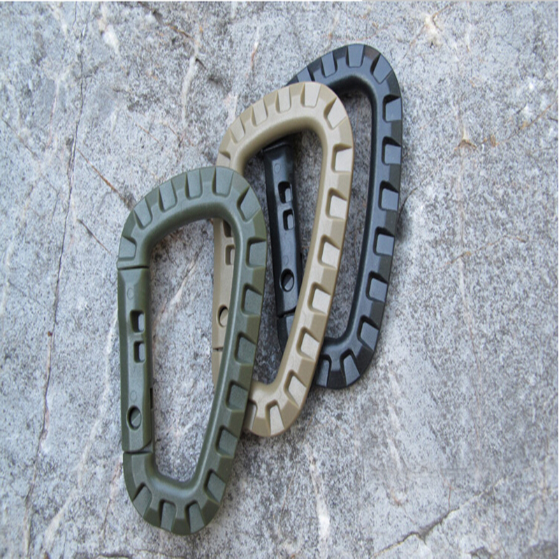 1PCs Mini Carabiner Cliping Clip Edc Tool Outdoor Camping Pajisjet - Kampimi dhe shëtitjet - Foto 2
