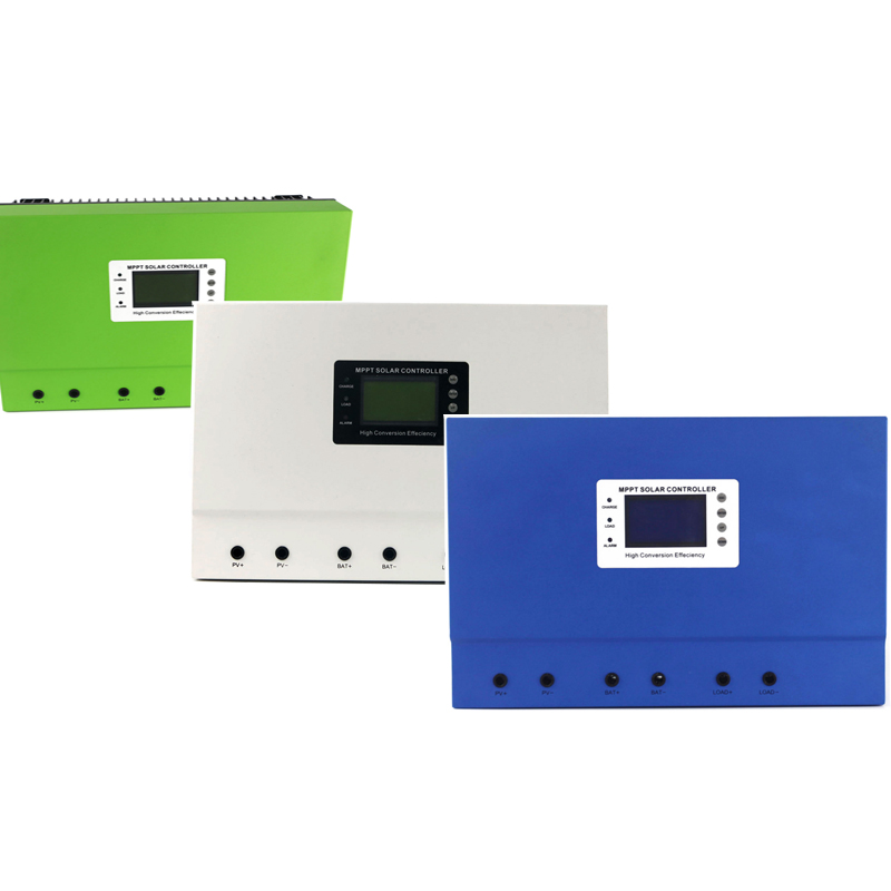 Master MPPT 50A 80A 100A 12V/24V/36V/48V auto 96V solar charge controller with RS232/LAN high quality smart2 48v 50a mppt solar charge controller with rs232 lan dc load ctrl 50a 48v pv regulator