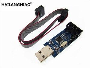 Image 1 - 10pcs New USBASP USBISP AVR Programmer USB ISP USB ASP Support Win7 64K