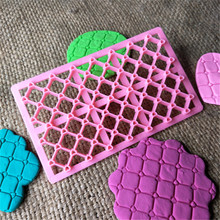 VOGVIGO New Design Heart Love Shape Fondant Cupcake Embosser Cutter Mold Icing Embossing Biscuit Sugar Craft Cake Cookie
