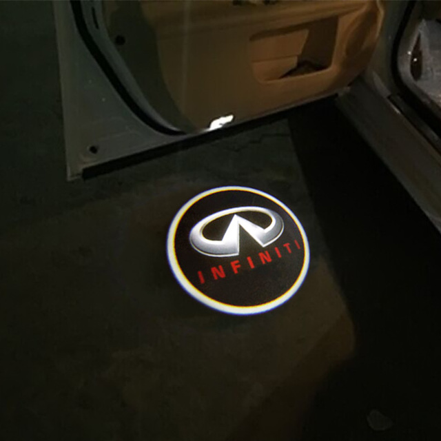 Pcslot LED Car Door Logo Projectors Light Ghost Shadow Light - Car sign with namesonline get cheap d led sign aliexpresscom alibaba group