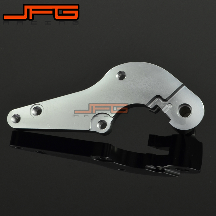 BRAKE CALIPER ADAPTER ADAPTOR BRACKET FIT 320MM OVERSIZE DISC ADAPTOR FOR KTM EXC SXF SX XC BIKES SUPERMOTO fit for rm 125 00 09 rm250 00 01 02 03 04 05 06 07 08 09 10 11 12 front rear brake disc rotor bracket bracket oversize 320mm