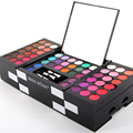 2017 Moda Primavera Kit Maquiagem Pro 145 Cores Shimmer Matte Eyeshadow Palette Mulheres Cosméticos 3 Cores Blush Pigmento Da Sombra de Olho