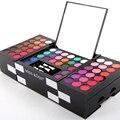 2017 de La Moda de Primavera Kit Pro Makeup 145 Color Shimmer Mate Sombra de Ojos Paleta de Cosméticos para Mujeres 3 Colores Colorete Sombra de Ojos Del Pigmento