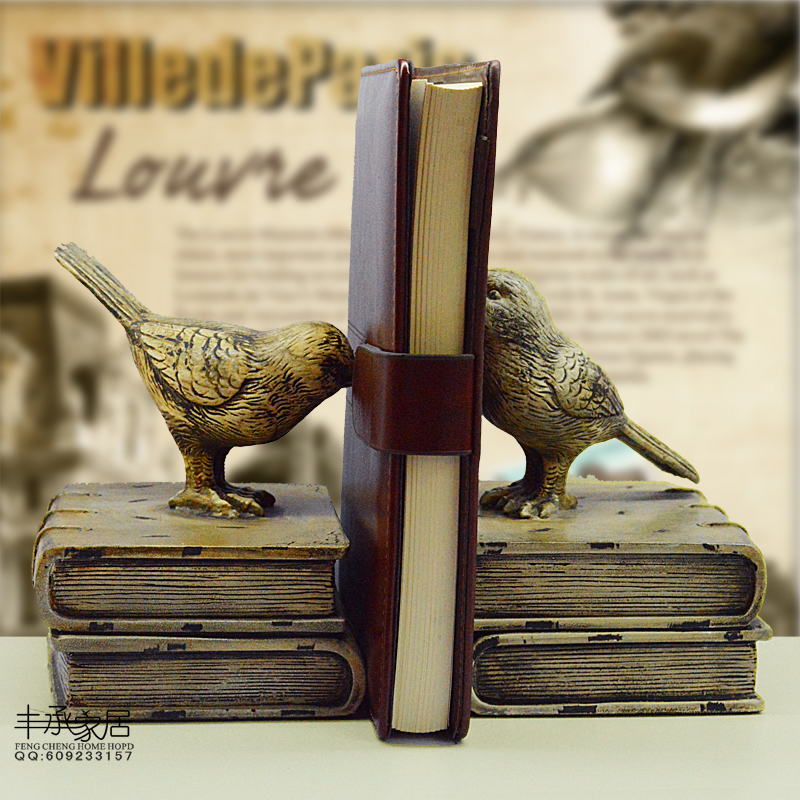ФОТО Brief elegant bookend classical book ends fashion vintage book end accessories antique bookend