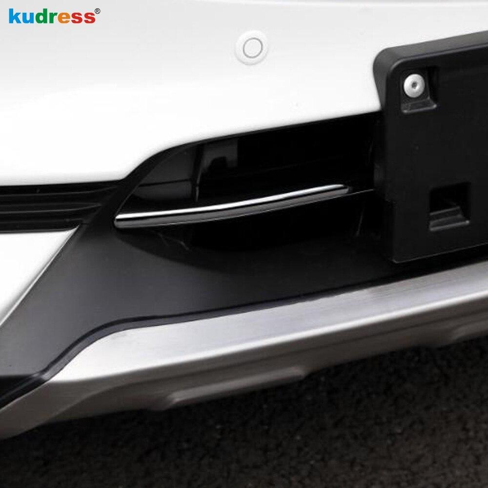 Für Mazda CX5 CX-5 2017 2018 2019 Stahl Chrome Vorne Unten Stoßstange Schutz Unteren Moulding Grill Grille Haube Auto Zubehör