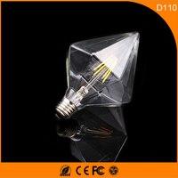 50PCS D110 3W Vintage B22 E27 Led Bulb ,Retro Edison Light Bulb For Living Room Bedroom Coffee Bars AC 220 240V