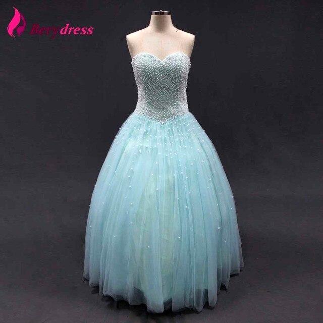 Vestido de novia color azul marino