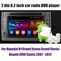 4 Core Android 6.0 Car DVD GPS For Hyundai H1 Grand Starex Grand Starex Royale i800 Starex 2007 2012 Radio Stereo