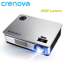 CRENOVA 4500 Lumens LED Projector For Full HD Android Projector Support 1920*1080P With WIFI Bluetooth 4.0 Android 7.1 OS Beamer