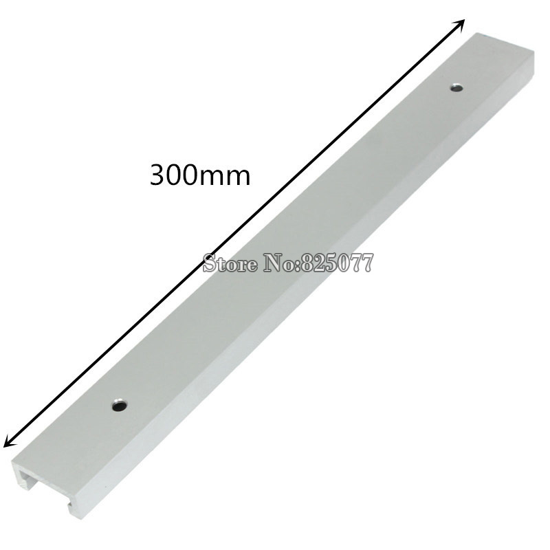 2PCS T tracks Length 12inch 300mm T tracks T slot Miter Track Jig Fixture Slot For Router Table Saw KF713 in Hand Tool Sets from Tools