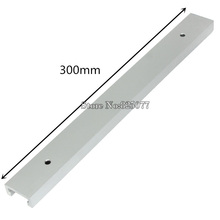 2PCS T-tracks Length 12inch 300mm T-tracks T-slot Miter Track Jig Fixture Slot For Router Table Saw KF713 1pc new aluminum alloy t track t slot 300mm length with screw for woodworking router table saw tools