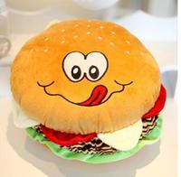 Large Hamburger Pillow Cushion Plush Toy Doll Cute Creative Birthday Gifts Christmas Gifts