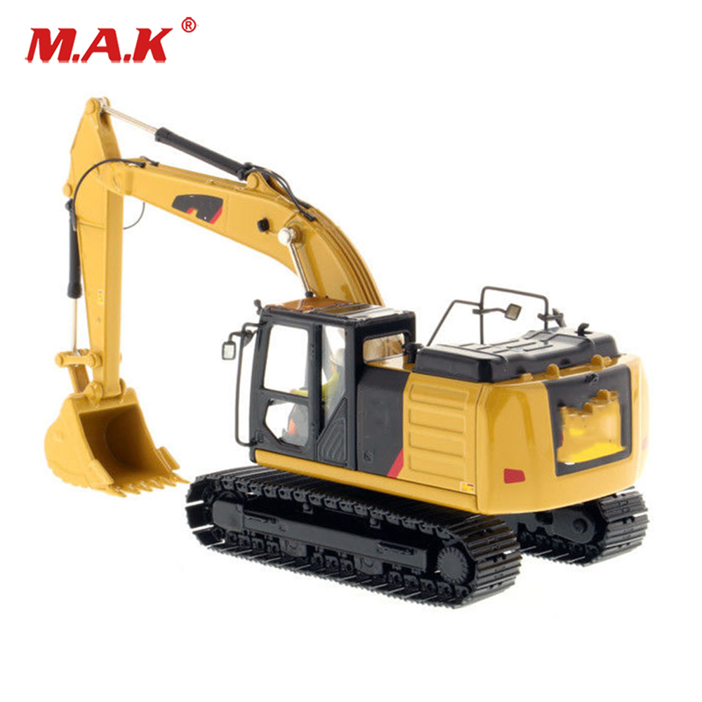 Kids toys 1:50 Diecast DM 1/50 Scale 320F L Hydraulic Excavator car Diecast Engineering Vehicles Model cars for collection collection diecast 1 50 scale m318f wheeled diecast excavator truck car vehicles diecast model