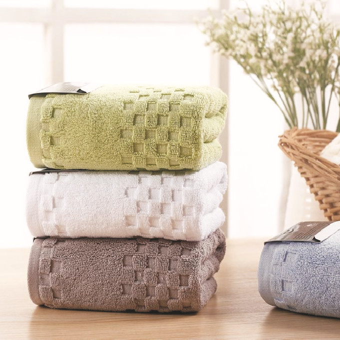 45 70cm Luxury Brand Egyptian Cotton Hand Towels Jacquard Thick Face Bathroom Hand Towels High