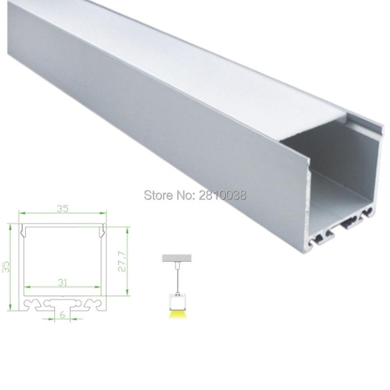 conjuntos 30x2 m lot u forma caixas e iluminacao de escritorios levou perfil de aluminio alu