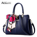 Модные Сумки Элегантных женщин сумки посыльного высокого качества сладкий сумки на плечо дамы Шарфы украшения женщины сумки 8441