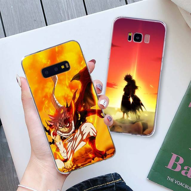 FAIRY TAIL cases for Samsung Galaxy S10 Plus S10e S8 S9 Plus S6 S7 edge A50 Note 8 9
