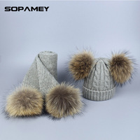 Children S Hat And Scarf For Baby Autumn Winter Warm Hats Balaclava Women Knit Crocheted Wool