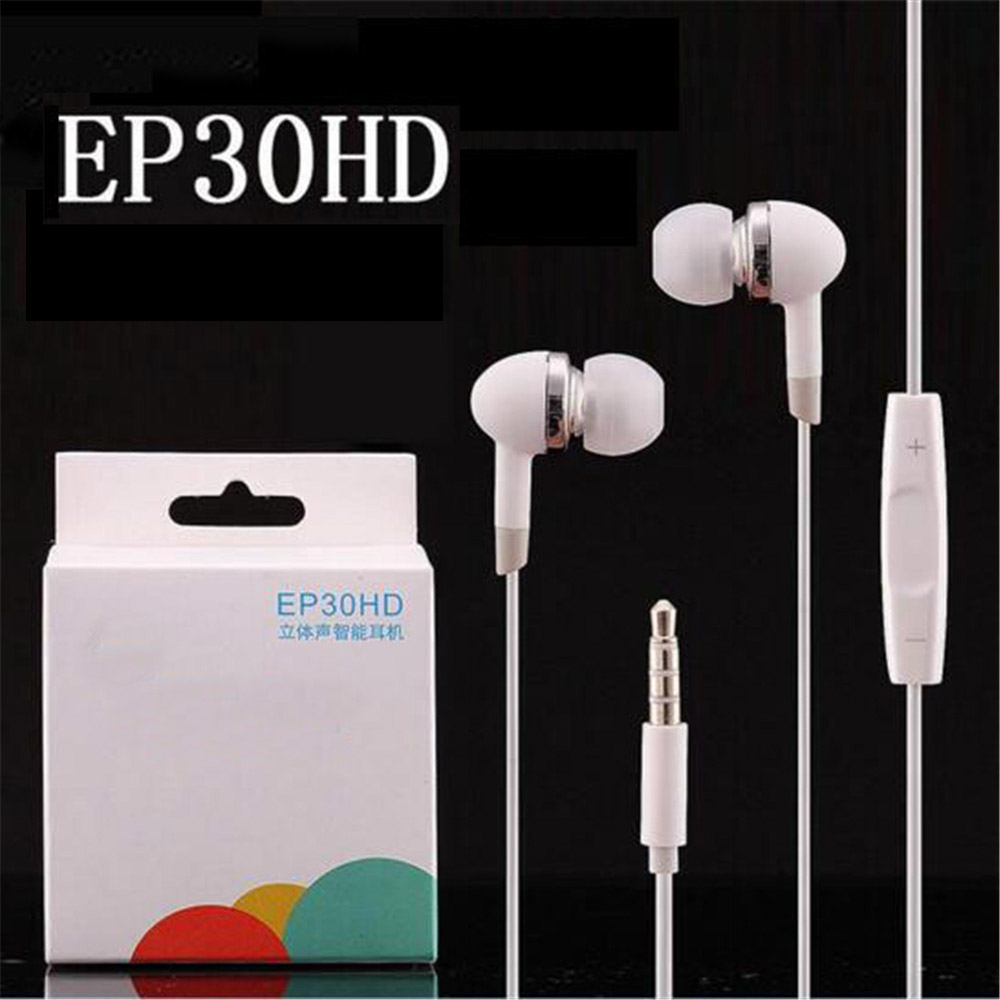 EP30HD Earphones M9 In-ear noise canceling Earbuds  for MEIZU MX2 MX4 MX5 M8 smart Phone with retail box meizu m8 se 8gb
