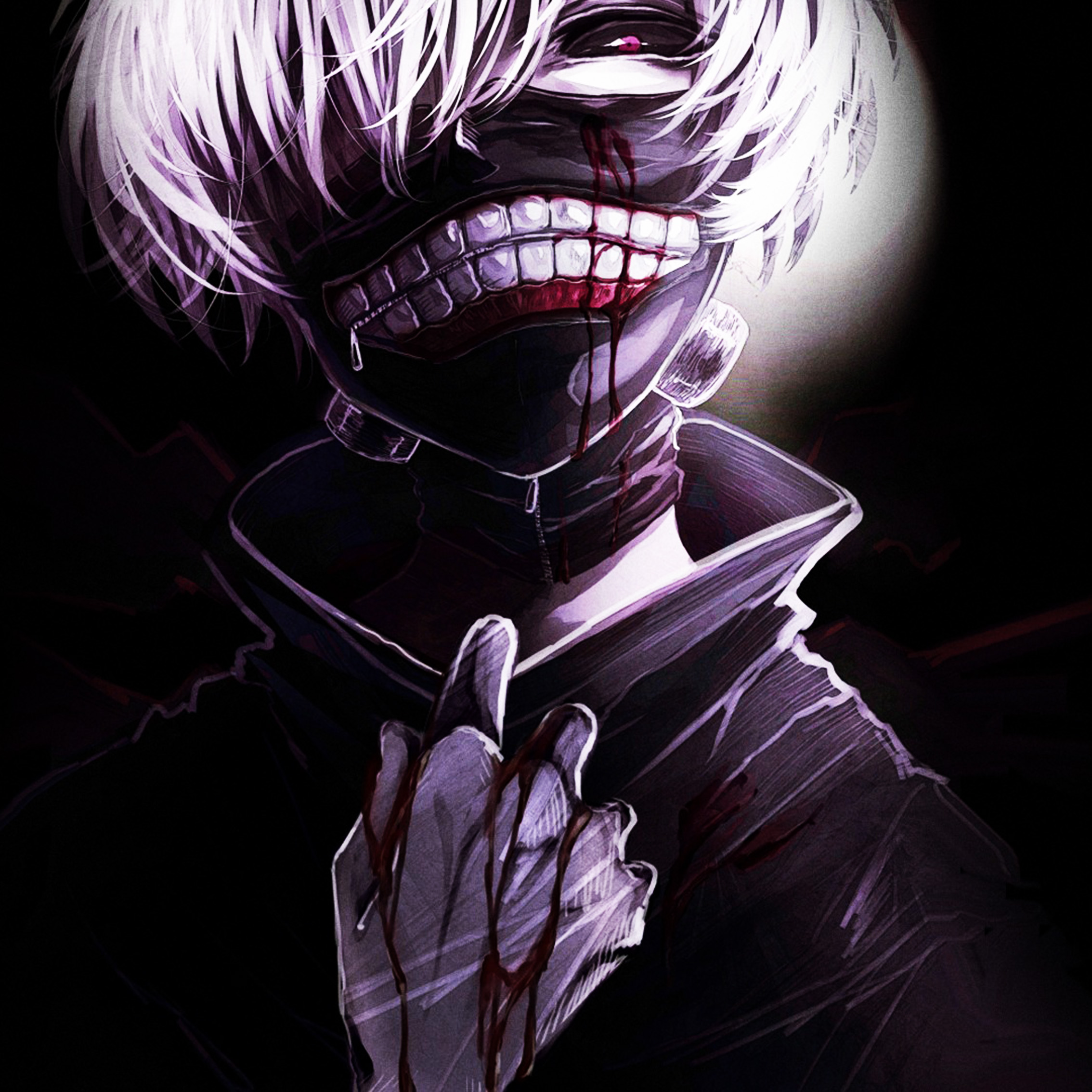 Anime Guy Blood Www Pixshark Com Images Galleries With