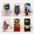 Top Quality Hard Plastic Cover Fashion Painted Case For HTC Desire 606W 600 Phone Bag Shell Cases PY