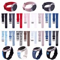 New Silicone Rubber Smartwatch Bands Link Bracelet Watch Band for Samsung Gear s2 R720 Classic R732 Strap Replacement Watchband