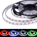4 in 1 RGBW LED Strip IP65 Waterproof 5M 60leds/m 5050 SMD DC 12V RGB White/RGB Warm White LED Light, 4 Color in 1 LED Chip