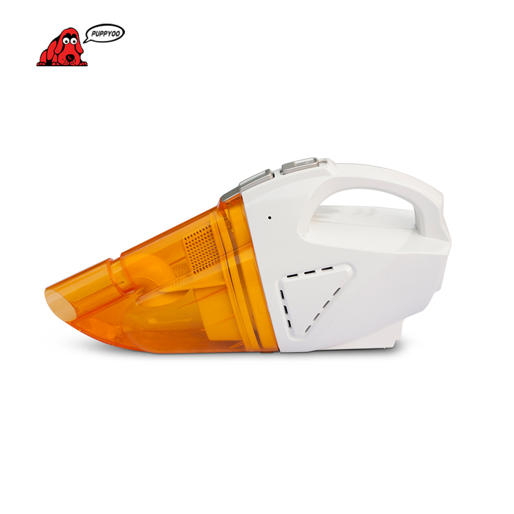 PUPPYOO Hot Sell Mini Vacuum Cleaner Car Wet & Dry Dust Collector Dust Catcher Portable&Handheld Aspirator D-703 12v 75w portable wet dry mini vac vacuum high power cleaner kit inflator turbo handheld dust collector aspirator for car shop