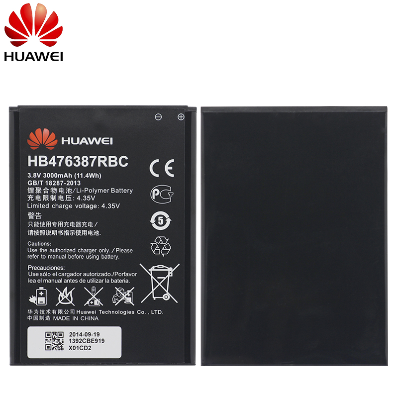 Image 5 - Hua Wei Original Phone Battery HB476387RBC For Huawei Honor 3X G750 B199 3000mAh Replacement Phone Batteries Free Tools-in Mobile Phone Batteries from Cellphones & Telecommunications