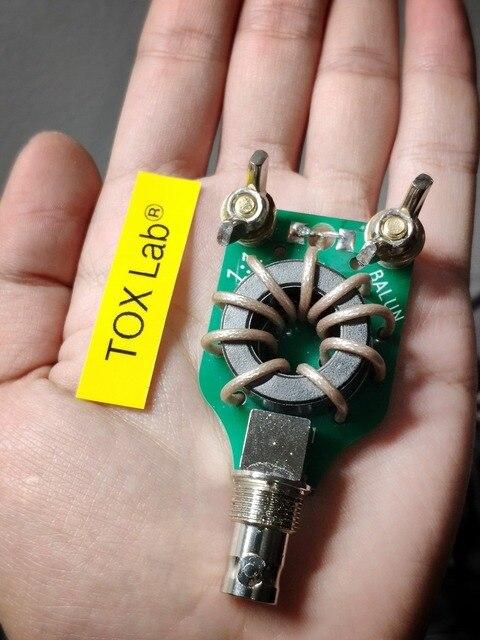 חדש 100 W מיניאטורי קצר גל balun 1:1 TDK מיובא מגנטי core