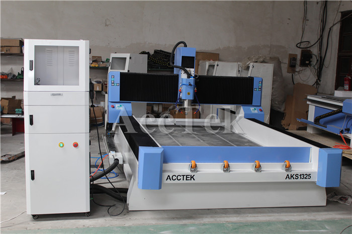 5.5kw Water Spindle Cnc Stone Engraving Milling Machine 3d Stone Engraving Machine 1325