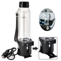 Car Electric Kettle Boiling 12V Heating Cup 280ML/Tech Tools Heated Smart Travel Mug with Temperature Control 75W power
