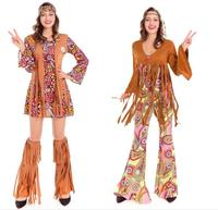 2017 New Style Women S Arrivals 60 S Party Hippie Cosplay Costume Fancy Dress Costumes Women