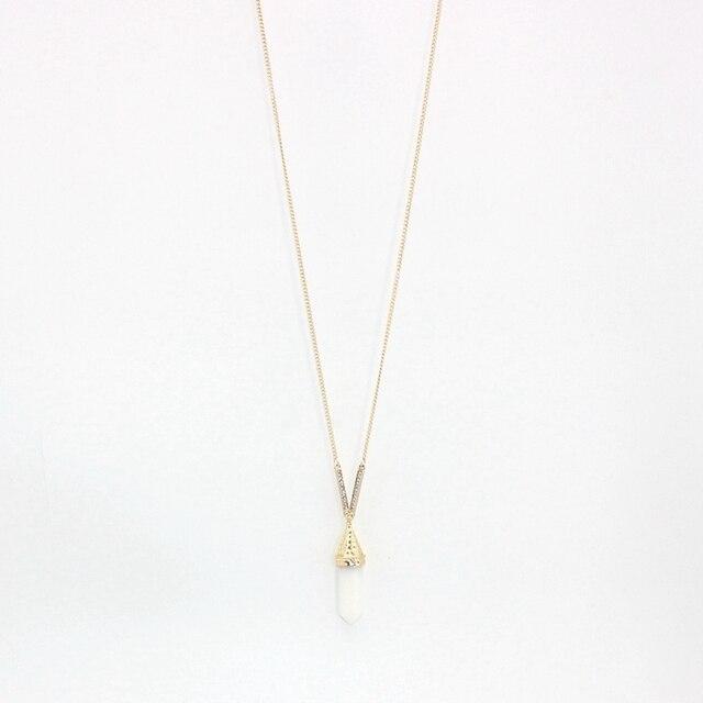 chicvie винтажное золотое ожерелье на свитер для женщин длинные фотография
