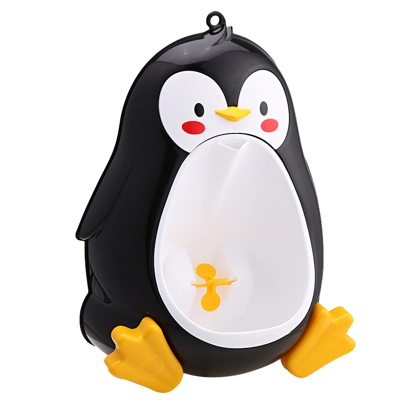 Baby Potty Toilet Potties Cartoon Penguin Portable Potty Training Boy Kids Toilet Pot Wall-Mounted Urinals Children's Potty WC