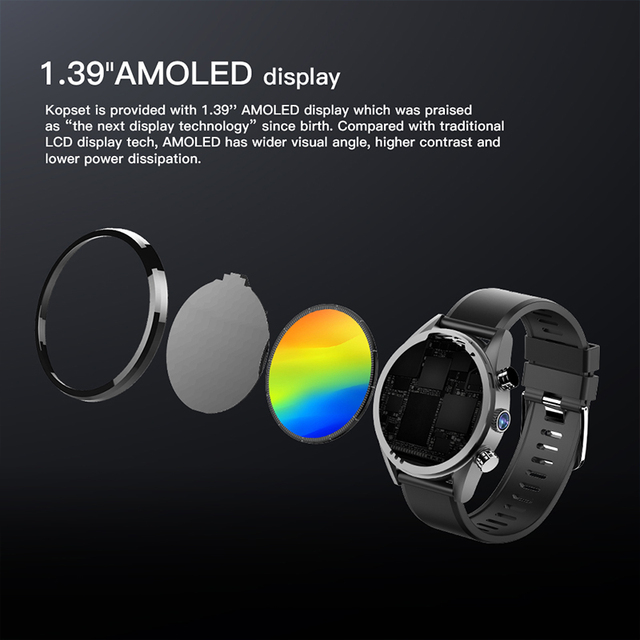 4G smartwatch men IP67 Waterproof Business Phone