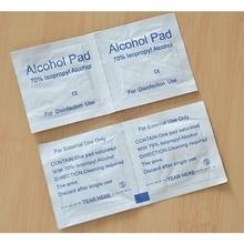 100pcs Disposable Medical Sterilization Alcohol Disinfection Cotton Piece Emergency Clean Sterilization Cotton Sheet First Aid