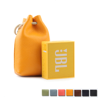 Newest Leather Carry Protective Storage Box Pouch Cover Bag Case For JBL GO Portable Wireless Bluetooth Speaker Bags