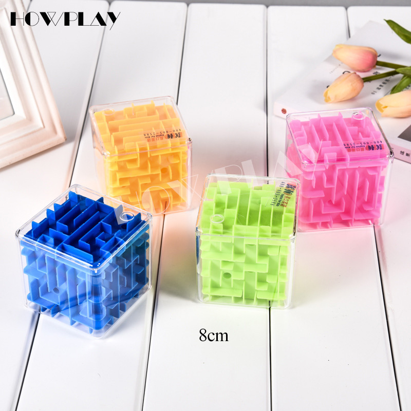 Howplay 3D Maze Magic Cube Puzzle Speed Cube Puzzle Game Labyrinth Ball Toys Maze Ball Games Educational Toys labyrinth настенные часы hermle 70964 030341