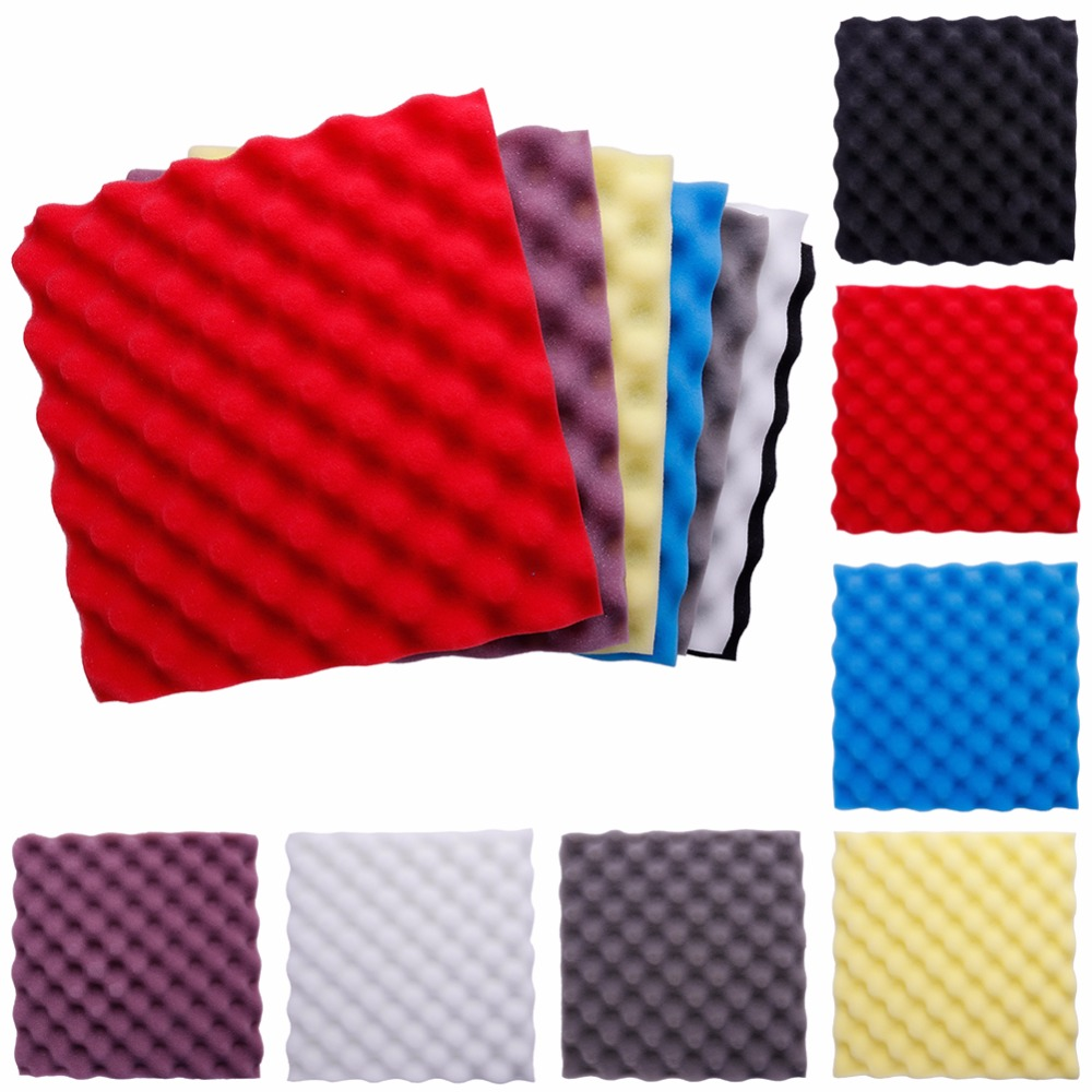 1pc 30 30 3cm soundproofing foam acoustic foam sound - Bedroom studio acoustic treatment ...