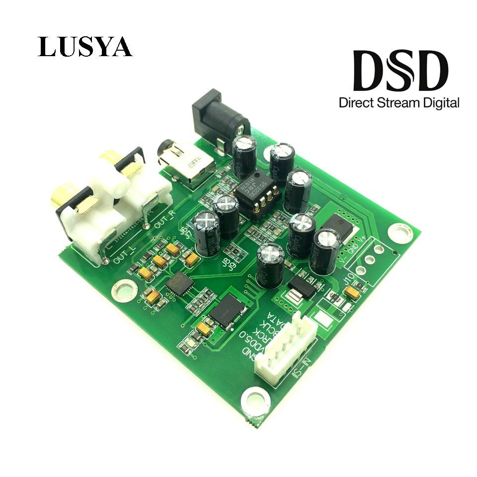 Unterhaltungselektronik Lusya Es9018k2m I2s/iis Dsd Digitale Audio Dac Decoder Board Unterstützung 32bit 384 Karat Aux Analog Ausgang F4-009 Modische Und Attraktive Pakete