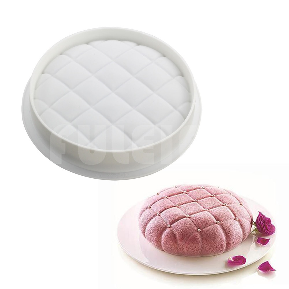 DIY 3D Round Pillow shaped cake mould , baking tools silicone mousse bread mold pastry d ...